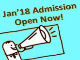 Spring admission is open now - Apply now for next year January intake