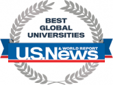 US News and World Repoprt - Best Global Universities 2020