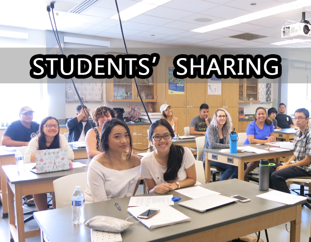 Students' Sharing
